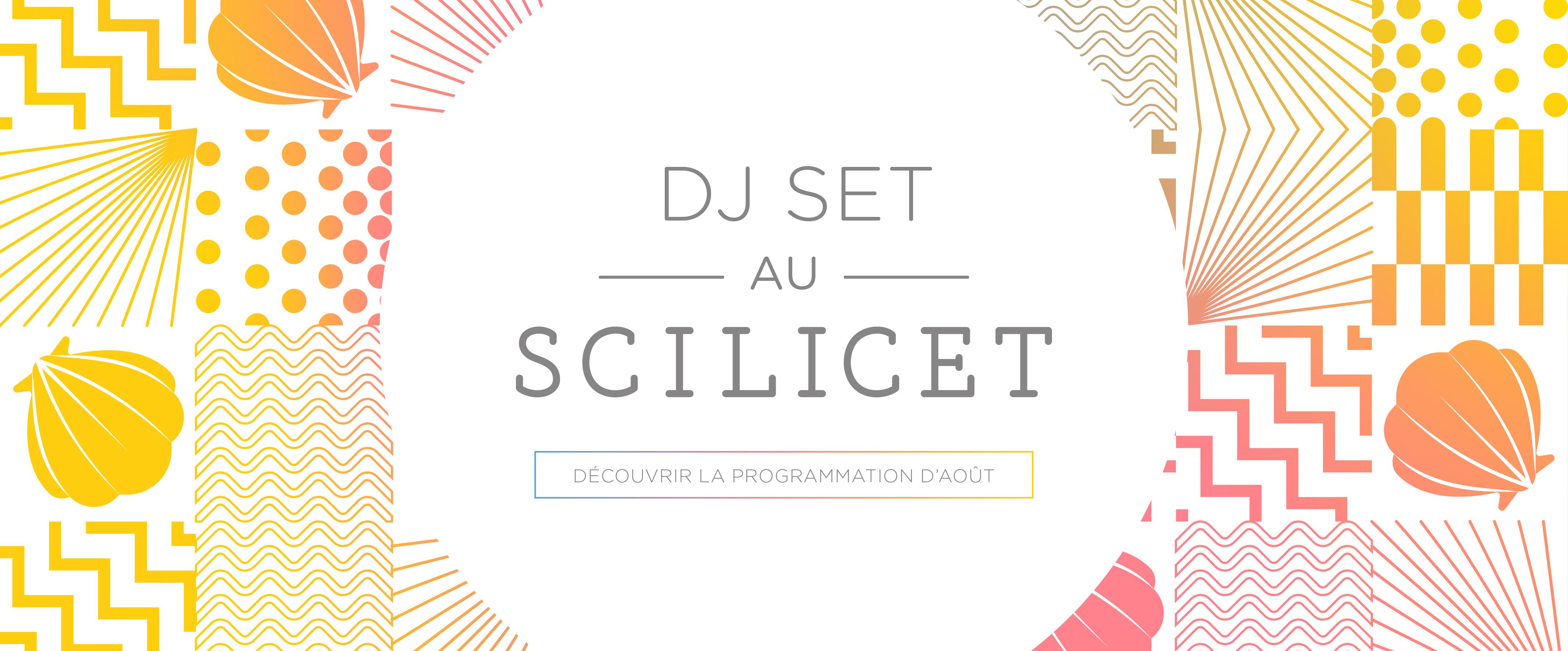 Agenda de la programmation du Scilicet - Août